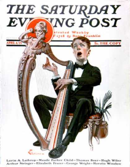 Saturday Evening Post - 1925-04-04