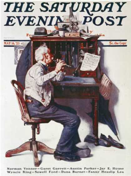 Saturday Evening Post - 1925-05-16 (Norman Rockwell)