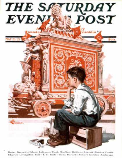 Saturday Evening Post - 1925-05-23