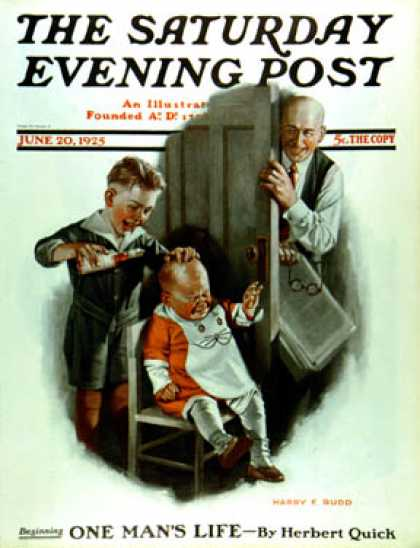 Saturday Evening Post - 1925-06-20