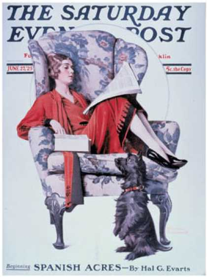 Saturday Evening Post - 1925-06-27 (Norman Rockwell)