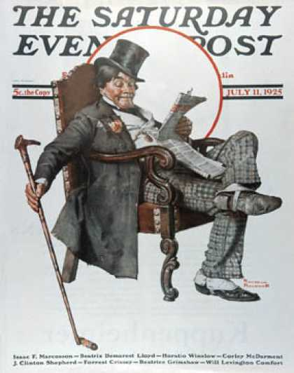 Saturday Evening Post - 1925-07-11 (Norman Rockwell)