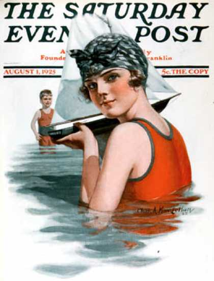 Saturday Evening Post - 1925-08-01
