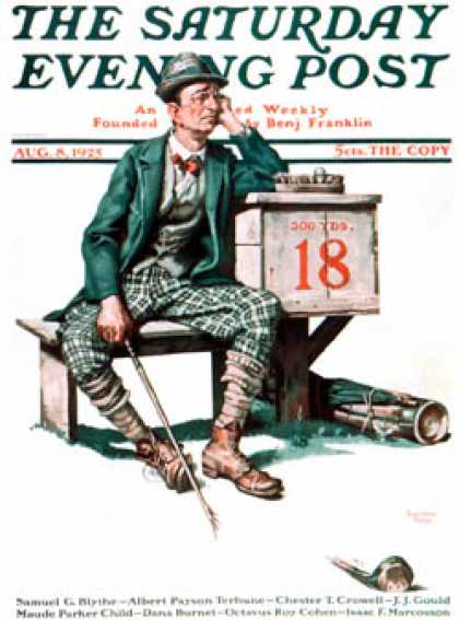 Saturday Evening Post - 1925-08-08