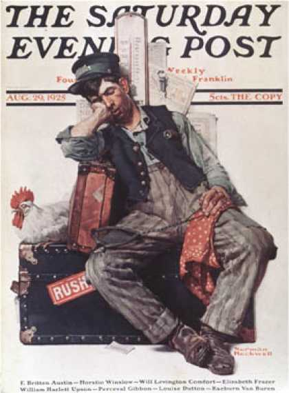 Saturday Evening Post - 1925-08-29 (Norman Rockwell)