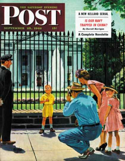 Saturday Evening Post - 1948-09-25: Future President (George Hughes)