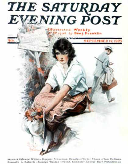 Saturday Evening Post - 1925-09-12