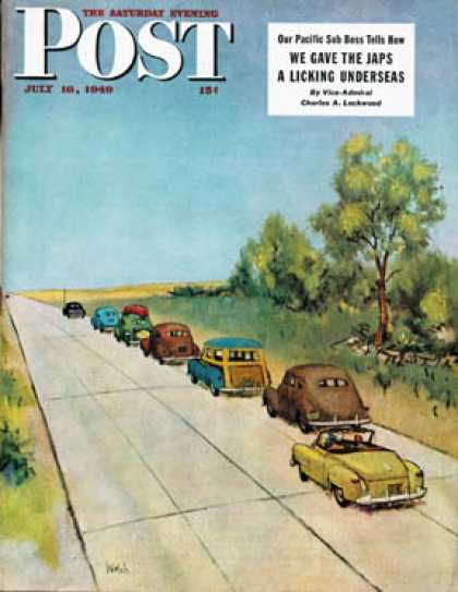 Saturday Evening Post - 1949-07-16: Highway Patrol (Jack Welch)