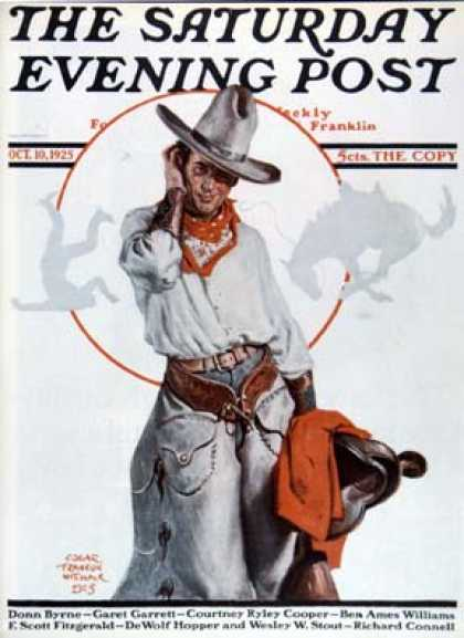 Saturday Evening Post - 1925-10-10