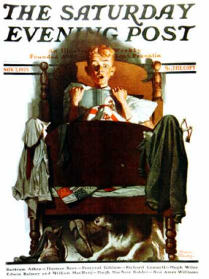 Saturday Evening Post - 1925-11-07