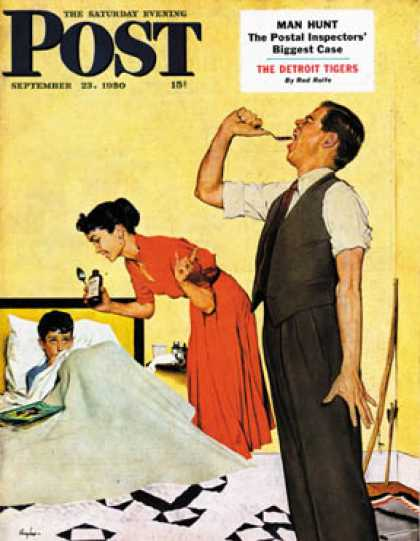 Saturday Evening Post - 1950-09-23: Take Your Medicine (George Hughes)