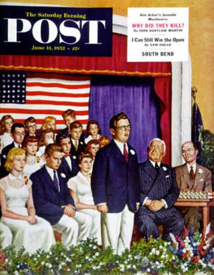 Saturday Evening Post - 1952-06-14: High School Commencement Address (Amos Sewell)