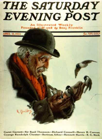 Saturday Evening Post - 1923-04-21