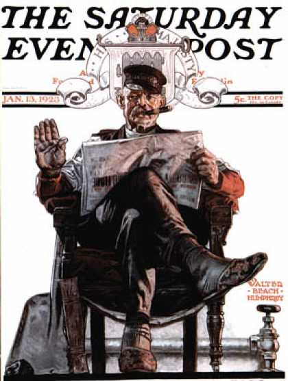 Saturday Evening Post - 1923-01-13