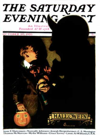 october 1926 - Halloween Magazines