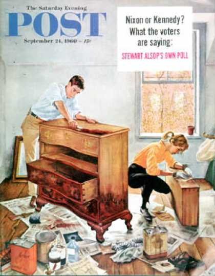 Saturday Evening Post - 1960-09-24: Refinishing an Heirloom (George Hughes)