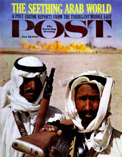 Saturday Evening Post - 1962-01-20: Bedouins in Kuwait (John Bryson)