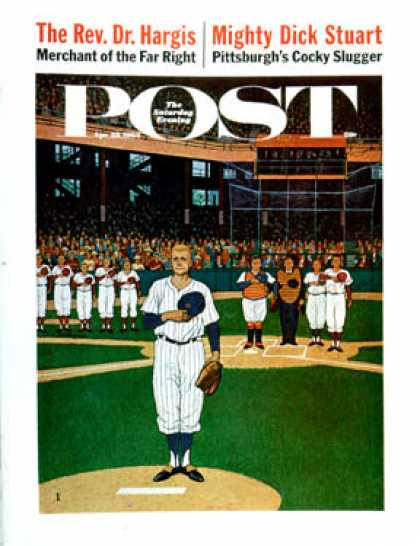 Saturday Evening Post - 1962-04-28: Baseball Fight (James Williamson)