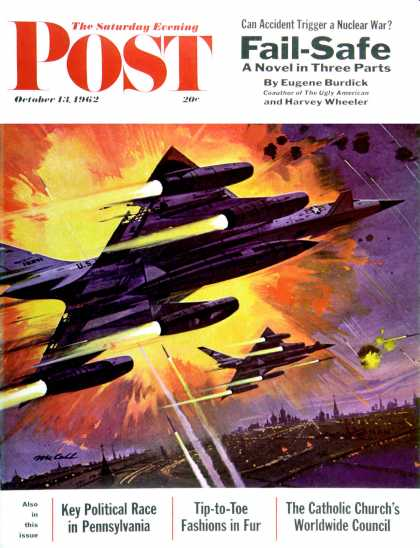 Saturday Evening Post - 1962-10-13: Failsafe (Robert McCall)