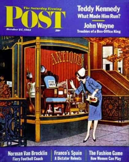 Saturday Evening Post - 1962-10-27: Antique TV (James Williamson)