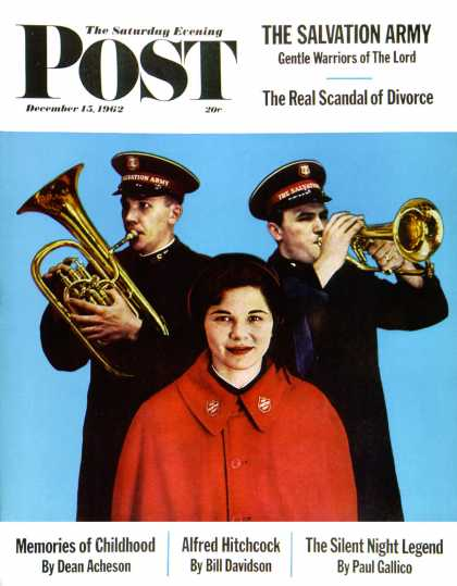 Saturday Evening Post - 1962-12-15: Salvation Army (Larry Fried)