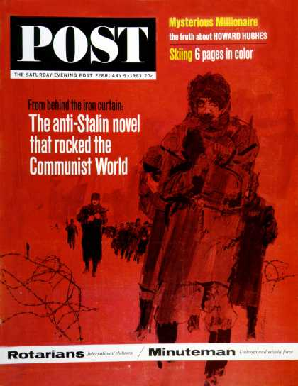 Saturday Evening Post - 1963-02-09: From Behind the Iron Curtain (Bill Whittingham)