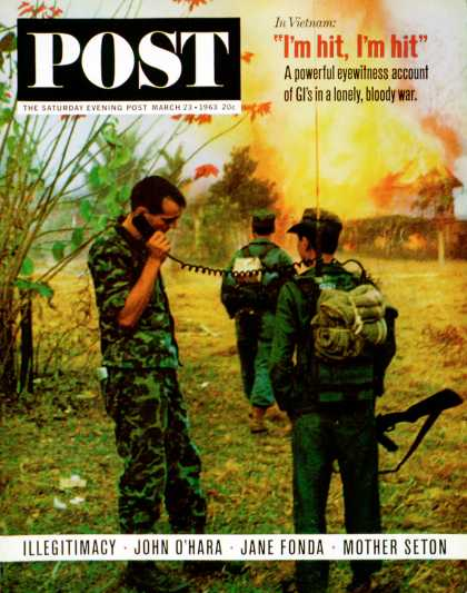 Saturday Evening Post - 1963-03-23: Soldiers in Vietnam (Jerry Rose)