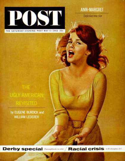 Saturday Evening Post - 1963-05-04: Ann-Margaret in Bye-Bye Birdie (Lawrence J. Schiller)