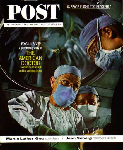 Saturday Evening Post - 1963-06-15: The American Doctor (John Launois)