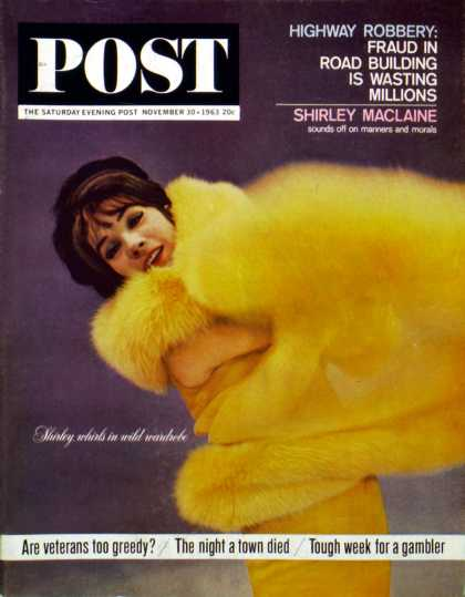 Saturday Evening Post - 1963-11-30: Shirley MacLaine (Unknown)