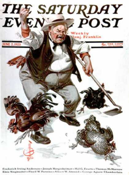 Saturday Evening Post - 1923-06-02