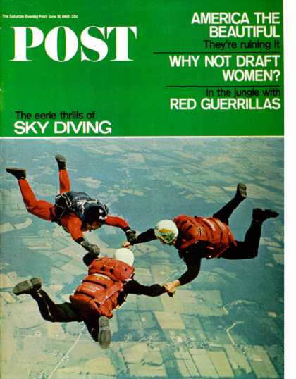 Saturday Evening Post - 1966-06-18: Sky Divers (Jerry Irwin)