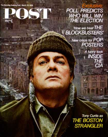 Saturday Evening Post - 1968-03-23: Boston Strangler (Steve Schapiro)