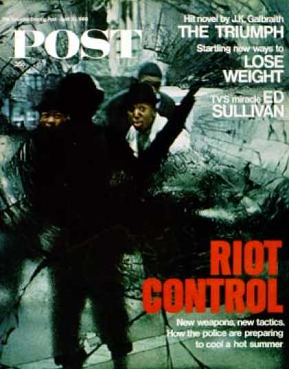 Saturday Evening Post - 1968-04-20: Riot Control (Fred Ward)