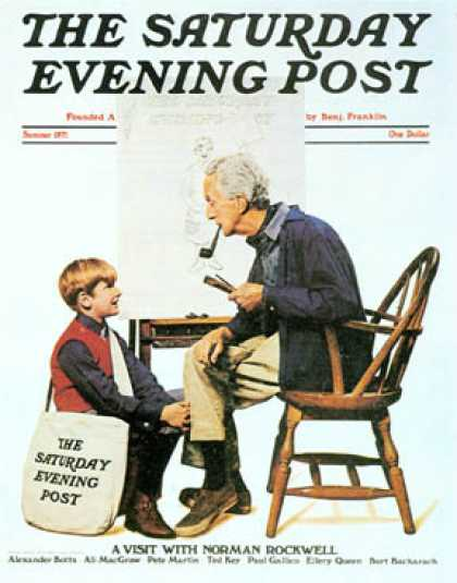 Saturday Evening Post - 1971-06-01 (Norman Rockwell)