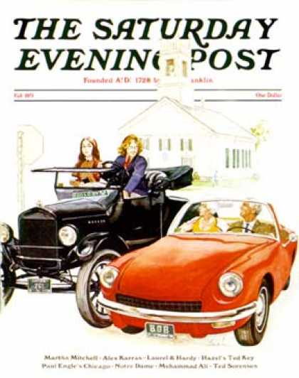 Saturday Evening Post - 1971-09-01: New & Old (George Hughes)