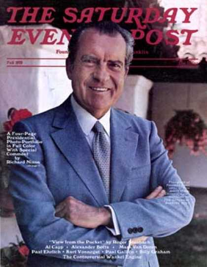Saturday Evening Post - 1972-09-01: Richard M. Nixon (Unknown)