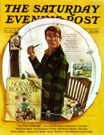 Saturday Evening Post - 1973-04-01 (Unknown)
