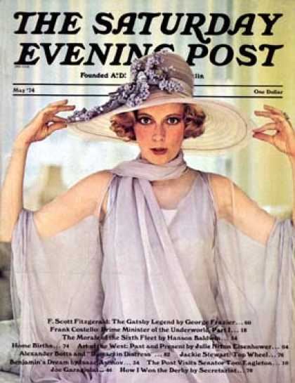 Saturday Evening Post - 1974-05-01: Mia Farrow (Paramount Pictures)