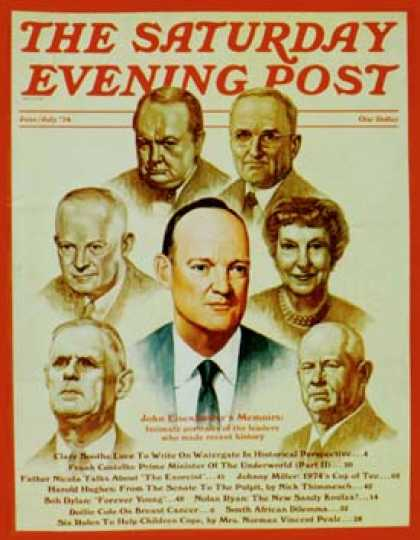 Saturday Evening Post - 1974-06-01: John Eisenhower's memoirs (R. Howe)