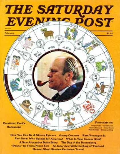 Saturday Evening Post - 1975-01-01: Future of President Ford (J. Moore)