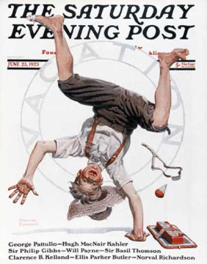 Saturday Evening Post - 1923-06-23 (Norman Rockwell)