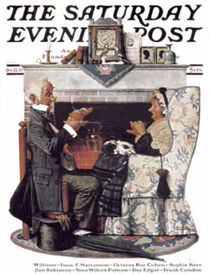 Saturday Evening Post - 1927-10-22 (Norman Rockwell)