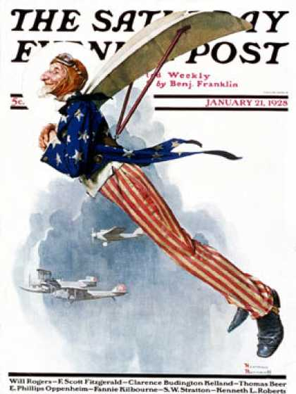 Saturday Evening Post - 1928-01-21 (Norman Rockwell)