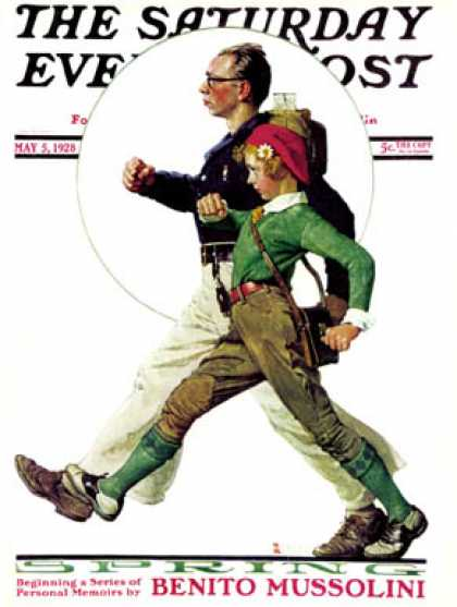 Saturday Evening Post - 1928-05-05 (Norman Rockwell)