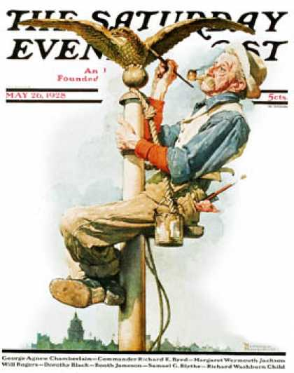 Saturday Evening Post - 1928-05-26 (Norman Rockwell)