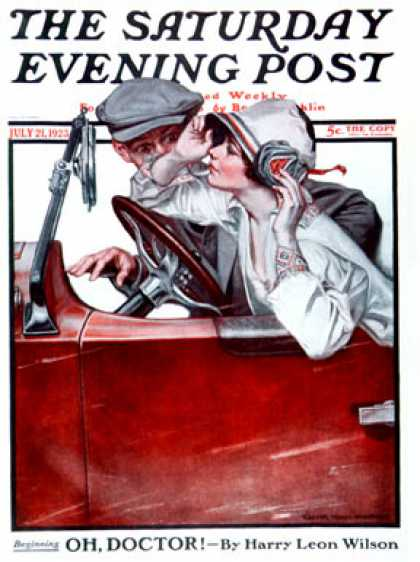 Saturday Evening Post - 1923-07-21