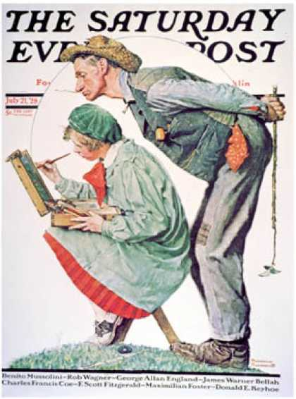 Saturday Evening Post - 1928-07-21 (Norman Rockwell)