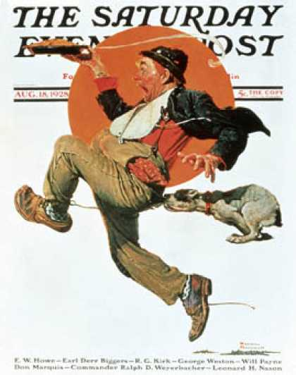 Saturday Evening Post - 1928-08-18 (Norman Rockwell)