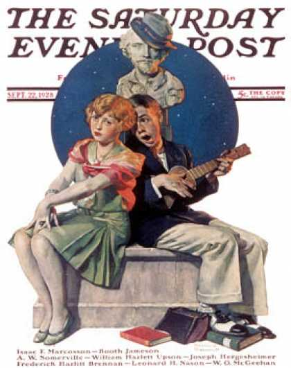 Saturday Evening Post - 1928-09-22 (Norman Rockwell)